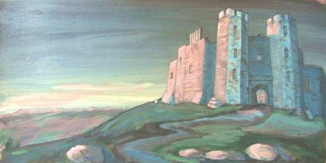Castle scrim rental