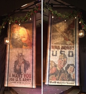 Printed Historic Posters.
