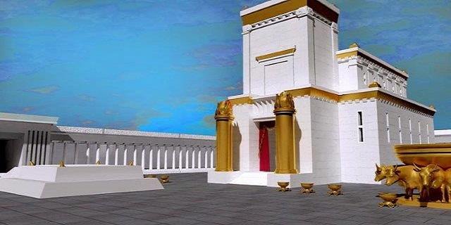 Jerusalem_Temple scrim rental