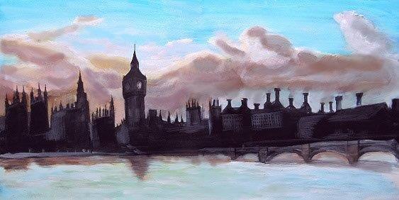 London_Skyline scrim rental