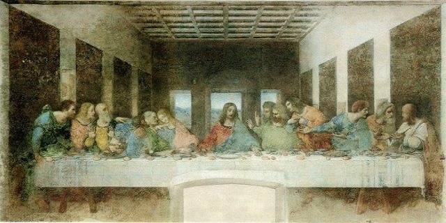 Last_Supper scrim rental
