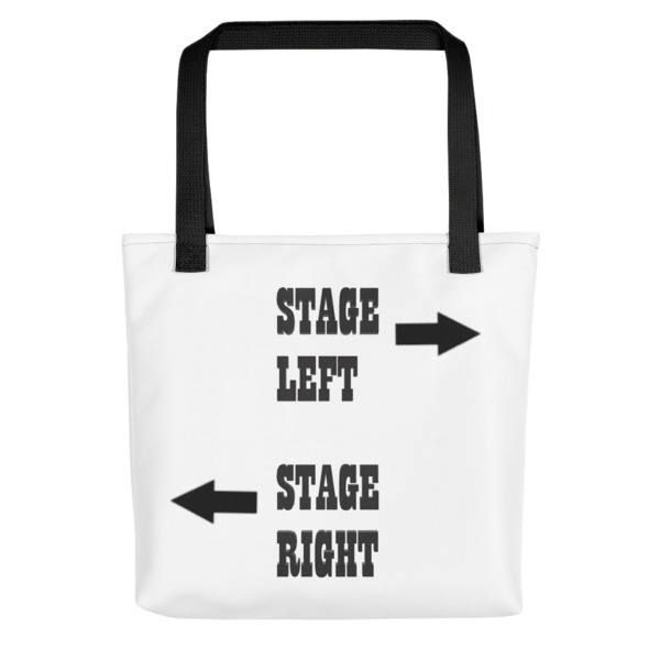 Stage Left, Stage Right Bag