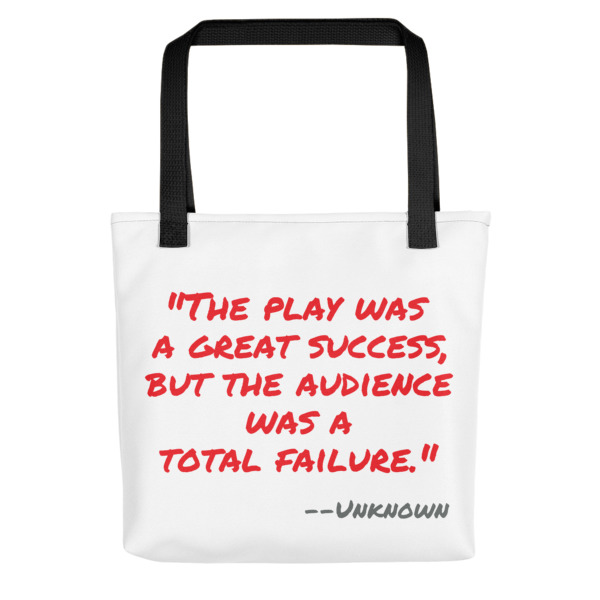 Quote Play Is Success Tote Bag