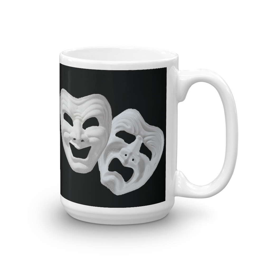 Tragedy & Comedy Masks Mug